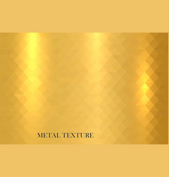 Metal gold shiny texture vector