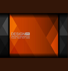 Orange abstract backgrounds design vector