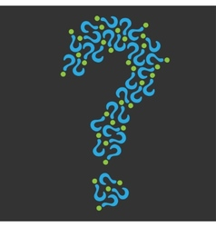 Question sign vector image