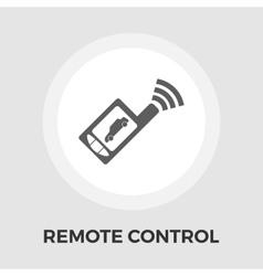 Remote control flat icon vector image