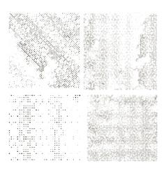 Set of Halftone Dots vector image vector image