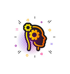 Thoughts icon teamwork sign core value vector