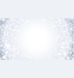 winter swirling snow effect with bright white vector image