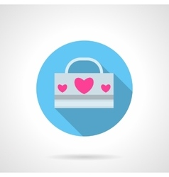 Love pack abstract round icon vector image