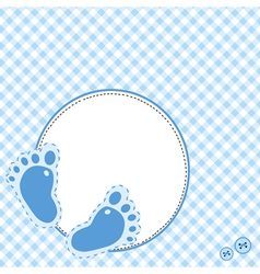baby footsteps vector image