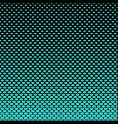 Ellipse pattern halftone background vector