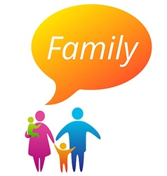 FamilyBubble vector image