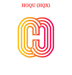 Hoqu hqx logo vector