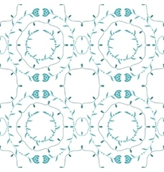Hungarian floral ornamental seamless pattern vector
