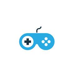 Joystick colorful icon symbol premium quality vector