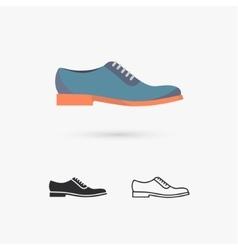 Men Shoes vector
