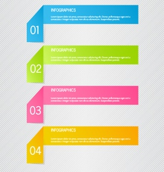 Modern inforgraphic template can be used vector