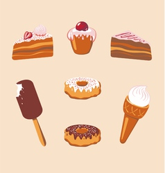 Sweet Set vector image