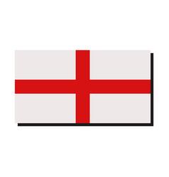 Flag england vector