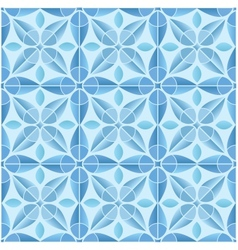 Kaleidoscope tile seamless pattern background vector