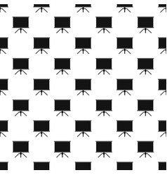 blank projection screen pattern vector image vector image