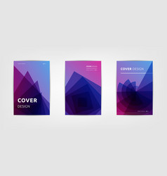 Abstract covers design gradients set vector