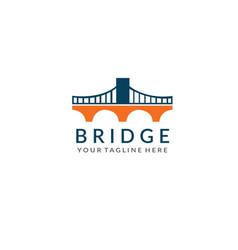 Bridge logo vector