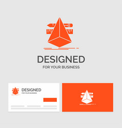 business logo template for 3d design designer vector image