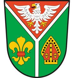 Coat of arms of ostprignitz-ruppin in brandenburg vector