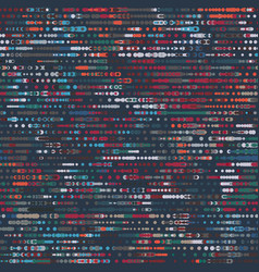 Hip funky techno circles moody graphical pattern vector