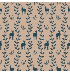 Seamless pattern in vintage style vector