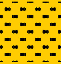 Side release buckle pattern vector