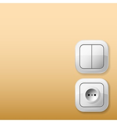 Sockets and Switches vector image vector image