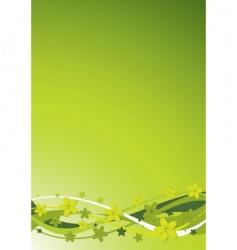 floral background illustration vector image vector image