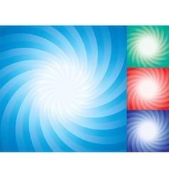 star burst backgrounds vector image