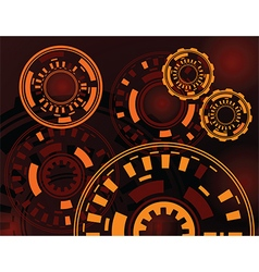technological background vector image