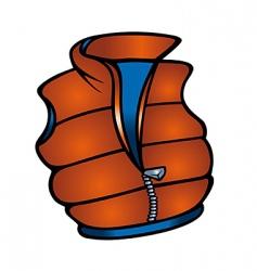 vest vector image