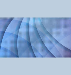 Abstract blue halftone technology background vector