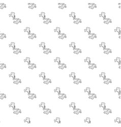 Camera up pattern seamless vector