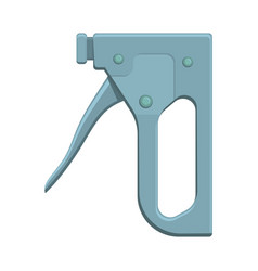 Construction stapler tool isolated vector