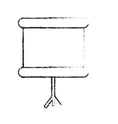 mobile chalkboard icon image vector image