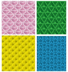 Pattern seamless background vector image