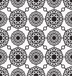 patterns seamless circles 02 vector image