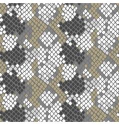 Python snake skin artificial seamless vector image