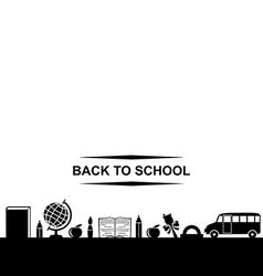 School banner vector