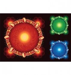 sci-fi elements vector image