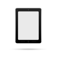 touch pad tablet vector image