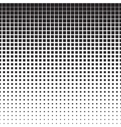 Squares Halftone Pattern vector image vector image