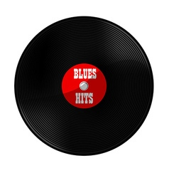 Blues hits vector image vector image