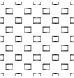 Film strip pattern simple style vector image