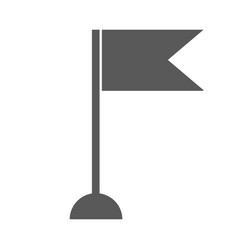 new flag icon simple vector image