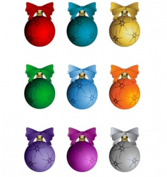 Christmas elements set vector