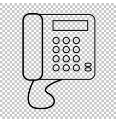 Communication call phone vector image