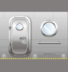 Door and window ship vector