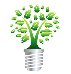 eco energy concept vector image